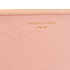 Aspinal of London Women's Essential Flat Embossed Flower Large Pouch - Peach: Image 5
