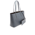 Aspinal of London Women's Regent Croc Tote Bag - Blue: Image 3