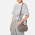 Alexander Wang Women's Mini Rockie Pebbled Leather Stud Detail Bowler Bag - Mink Grey: Image 2