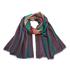 Paul Smith Men's Signature Stripe Wool Dip Dye Scarf - Multi: Image 1