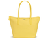 Lacoste Women's Small Shopping Bag - Yellow: Image 1