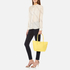 Lacoste Women's Small Shopping Bag - Yellow: Image 2