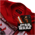 T-Shirt Homme Star Wars Vador Piano - Rouge