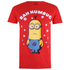 Despicable Me Men's Bah Humbug T-Shirt - Red: Image 1