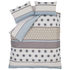 Catherine Lansfield Retro Bands Bedding Set - Teal: Image 2