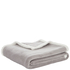 Catherine Lansfield Plain Sherpa Fleece Throw (125cm x 150cm): Image 2