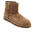 UGG Women's Classic Unlined Perforated Suede Mini Ankle Boots - Tawny: Image 2