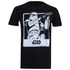 T-Shirt Homme Star Wars Rogue One Trooper Polaroid - Noir: Image 1