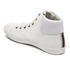 Jack & Jones Men's Dunmore Mid Top Trainers - White: Image 4