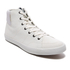 Jack & Jones Men's Dunmore Mid Top Trainers - White: Image 2