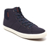Jack & Jones Men's Dunmore Mid Top Trainers - Navy Blazer: Image 2