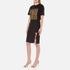 Alexander Wang Women's Pencil Side Slit Lacing Skirt - Matrix: Image 4