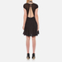 Alexander Wang Women's Short A-Line Dress with Gathered Sleeves - Matrix: Image 2