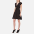 Alexander Wang Women's Short A-Line Dress with Gathered Sleeves - Matrix: Image 3