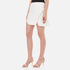 Alexander Wang Women's Mini Shortrow Peplum Lacing Skirt - Bleach: Image 2