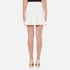 Alexander Wang Women's Mini Shortrow Peplum Lacing Skirt - Bleach: Image 3