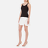 Alexander Wang Women's Ribbed Centre Front Piercing Tank Top - Matrix: Image 4