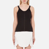 Alexander Wang Women's Ribbed Centre Front Piercing Tank Top - Matrix: Image 1