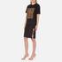 Alexander Wang Women's Bonded Barcode Boxy Crew Neck T-Shirt - Matrix: Image 2