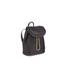 Diane von Furstenberg Women's Satin Backpack - Black: Image 3