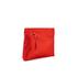 Diane von Furstenberg Women's Satin Asymmetric Foldover Clutch Bag - Rust: Image 3
