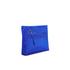 Diane von Furstenberg Women's Satin Asymmetric Foldover Clutch Bag - Cobalt: Image 3