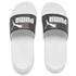 Puma Women's Popcat Swan Slide Sandals - Puma White: Image 1