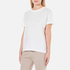T by Alexander Wang Women's Superfine Jersey Short Sleeve Crew Neck T-Shirt - White: Image 2