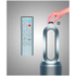Dyson HP02 Hot and Cool Purifier - White/Silver: Image 5