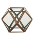 Parlane Ness Glass Terrarium Tealight Holder - Copper (11 x 10.5cm)