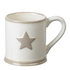 Parlane Star Ceramic Mug - White: Image 1