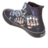 Spiral Men's Game Over High Top Lace Up Sneakers - Black: Image 4