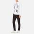 Vivienne Westwood Anglomania Men's News Sweatshirt - White: Image 4