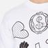 Vivienne Westwood Anglomania Men's News Sweatshirt - White: Image 5
