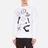 Vivienne Westwood Anglomania Men's News Sweatshirt - White: Image 2