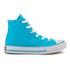 Converse Kids' Chuck Taylor All Star Hi-Top Trainers - Fresh Cyan/Magenta Glow/White: Image 1