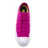 Converse Women's Chuck Taylor All Star II Ox Trainers - Magenta Glow/White: Image 3