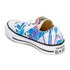 Converse Women's Chuck Taylor All Star Ox Trainers - Fresh Cyan/Magenta Glow/White: Image 4