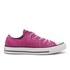 Converse Women's Chuck Taylor All Star Ox Trainers - Magenta Glow/Black/White: Image 1