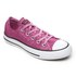 Converse Women's Chuck Taylor All Star Ox Trainers - Magenta Glow/Black/White: Image 2