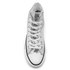 Converse Women's Chuck Taylor All Star Hi-Top Trainers - Silver/Black/White: Image 3