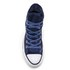 Converse Chuck Taylor All Star Hi-Top Trainers - Obsidian/Black/White: Image 3