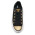 Converse Women's Chuck Taylor All Star Ox Trainers - Black/Gold/White: Image 3