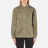 Maison Scotch Women's Army Jacket with Embroidery - Military Green: Image 1