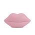 Lulu Guinness Women's Powdered Perspex Lips Clutch Bag - Rose Pink: Image 1
