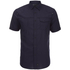 Dissident Men's Zenna Short Sleeve Shirt - Dark Navy: Image 1