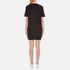 Love Moschino Women's Peace Heart Sweatshirt Dress - Black: Image 2