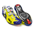 Sidi Wire Carbon Vernice Cycling Shoes - Yellow Fluro/Blue