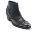 McQ Alexander McQueen Women's Solstice Zip Leather Ankle Boots - Black: Image 2