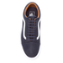 Vans Men's Old Skool Premium Leather Trainers - Parisian Night/True White: Image 3